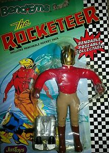 Disney The Rocketeer Bendems Bend-Ems Collectable