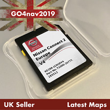 NEW! NISSAN CONNECT 2 V4 LCN2 SD CARD MAP NAVIGATION MAP UK & EUROPE 2019 - 2020