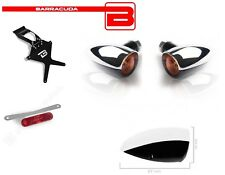 Portatarga + Catadiottro + Frecce FONZIE YAMAHA T-MAX 500 2008 2009 2010 2011
