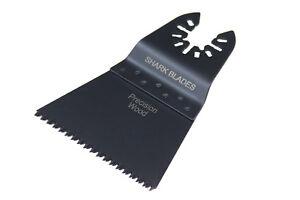 Shark Blades Universal Coarse Cut 65mm Multitool blade fits DeWalt Makita AEG
