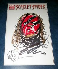 JOE BENITEZ original art sketch colored KANE WW WWE WWF on SCARLET SPIDER #1 NM Comic Art