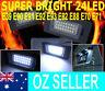 BRIGHT! BMW LED License Plate Lights E90 E92 E93 E60 E70 320 325 525 530