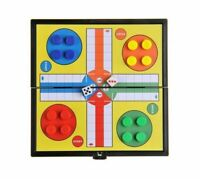 Large Ludo Traditional Board Game Gift For Adult Children 33 x 33cm NEW_UK