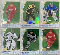 2019-20 UD ICE 6x GREEN VET LOT BERGERON KOPITAR MANTHA QUICK BINNINGTON