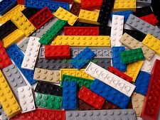 Longer Lego Plate & Brick 30 Pc Lot: 2x4 2x6 2x8 2x16 Dot PLATES 2x4 2x10 BRICKS