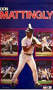 DON MATTINGLY 2X SEALED Rolls Posters STARLINE 1988 Individual & Collage