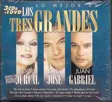 ULTRA RARE 3cds & dvd JUAN GABRIEL Jose Jose ROCIO DURCAL querida INSENSIBLE