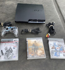 Sony PlayStation 3 PS3 SLIM 120GB Game Console System Bundle CECH-2001A