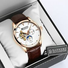 Barkers of Kensington Men's Automatic Rose Limited Edition INC 5YEAR WARRANTY