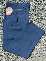 NWT Columbia Men's Blood & Guts III Convertible Pants Dark Mountain 34 x 34