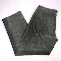 Rafaella Womens Pants sz 10 P Brown Corduroy Straight Leg Petite Casual QK70