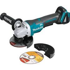 "Makita 18V LXT Li-Ion Brushless 4-1/2"" Angle Grinder (Tool Only) XAG06Z New"
