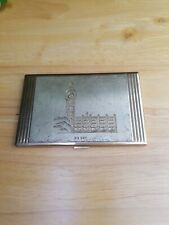 Vintage Swiss Made Agme Big Ben Design Cigarette Case