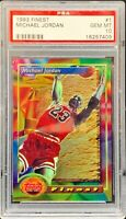 Michael Jordan 1993 Topps Finest #1 PSA GEM MT 10 (Low Pop)