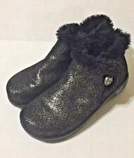 ALEGRIA Mer 553 WINTER BOOTS Clogs Fur Meri Shoes Booties 38 Us 8 $159 Black