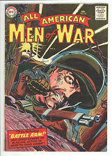 All American Men of War (1952) #42 Pre SGT Rock Easy CO Cov/Story 1st Prt VG/FN