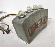 Old Odd light display instrument cluster aircraft indicator selector SteamPunk