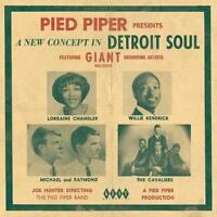 PIED PIPER Presents A NEW CONCEPT DETROIT SOUL New & Sealed CD (KENT) NORTHERN