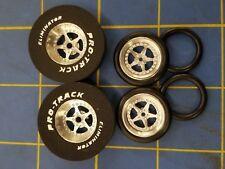Pro Track N402B / 411B Star 1 3/16 x 300 Rear & Front Drag Tires Mid America
