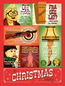A Christmas Story 1983 Movie Red Ryder Leg Lamp Holiday Film Classic Tribute Art