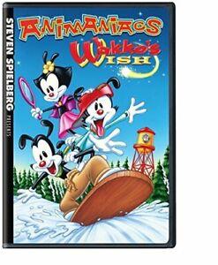 STEVEN SPIELBERG PRESENTS ANIMANIACS: WAKKO'S WISH NEW DVD