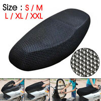 Motorcycle Scooter Seat Cover Cushion Net Breathable Mesh Anti-Slip S/M/L/XL/XXL