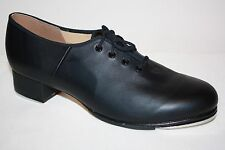 Bloch Black Tap Shoes Leather Techno Tap #1T // #2H Womens SIZE 11.5