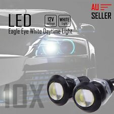 10 x Eagle Eye White Light Daytime Running DRL Backup Light Car 18MM 9W LED