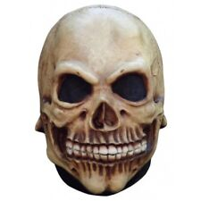 Skull Full Head Latex Mask Junior Fancy Dress Halloween