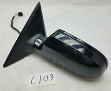 2008-2016 AUDI A5 COUPE DRIVER LEFT SIDE DOOR MIRROR ASSEMBLY - BLACK - OEM