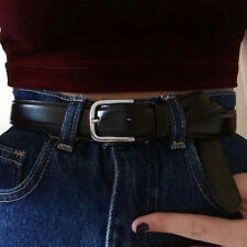 Hot Sale Women Belts Leather Metal Pin Buckle Waist Belt Waistband 110cm Fashion
