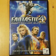 Fantastic 4 Rise of the Silver Surfer DVD Ioan Gruffudd Jessica Alba Chris Evans