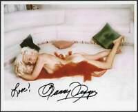 Bunny Yeager Boudoir Pin-Up Color Lithograph NOS Hand Signed Bunny Yeager