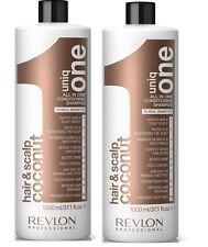Uniq One All in One CONDIZIONAMENTO Cocco Shampoo 1000 ml confezione da 2