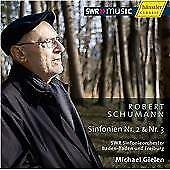 Michael Gielen, R. Schumann - Symphonies 2 & 3 [CD] hannsler vgc