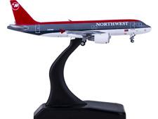 1:400 GeminiJets NORTHWEST AIRBUS A320 Passenger Airplane Diecast Aircraft Model