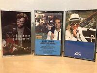 Eric Clapton Unplugged, Elton John Greatest Hits, Huey Lewis And The News Sports