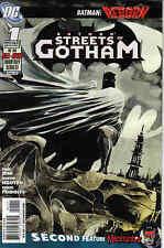 BATMAN STREETS OF GOTHAM #1 2 3 & 4 / REBORN / DINI / NGUYEN / DC COMICS