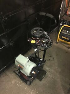 """8"""" Walk-Behind Electric Concrete Scarifier Planer 230V 5HP Used 10hr Only"""