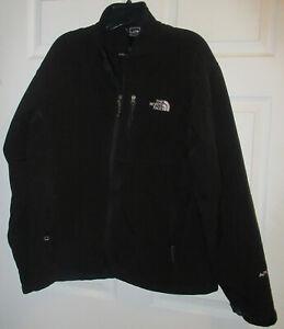 men's The NOrth Face Apex bionic soft shell jacket AL5C black Sz. L/XL