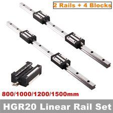 Linear Rail Guide Hgh20 Linear Slide Rail 800 1500mm Hgh20ca Bearing Block Set