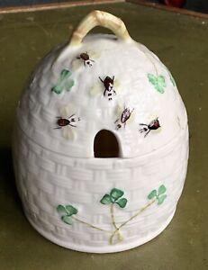 Kylemore Beleek Honey Pot complete with box