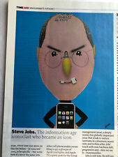 """""""TIME"""" Asia edition  MAY 14, 2007  Angelina Jolie, Steve Jobs"""