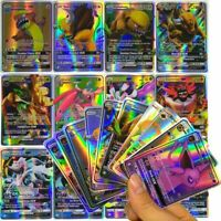 200 x 170GX+10Trainer+20Energy Pokemon Cards Flash TCG Rare High Combat Card US