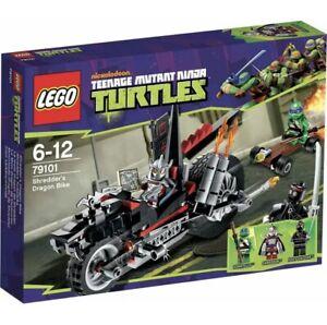 LEGO 79101 Teenage Mutant Ninja Turtles Shredder's Dragon Bike Brand New Sealed
