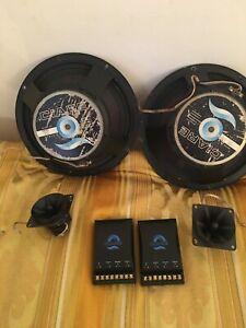 Impianto Auto Da Pannello Ciare Subwoofer 300 Watt+Tweeter+Filtri