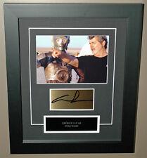 GEORGE LUCAS Signed STAR WARS Photo Frame