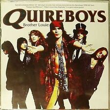 """QUIREBOYS 'BROTHER LOUIE' LIMITED EDITION 12"""" SINGLE ON RED VINYL"""