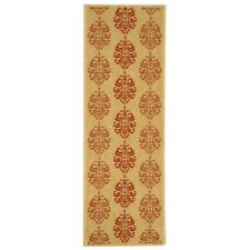 Natural/Red St.Martin Indoor/Outdoor Rug 2' 3 x 6' 7 Runner