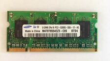 Samsung 512MB PC2-5300S Laptop Memory Ram Unbuffered • NON-ECC • DDR2-667